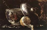 Still Life with a Nautilus Cup Willem Kalf