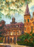 Old Cabildo and Gateway to Jackson Square William Woodward