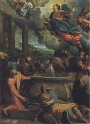 The Assumption of the Virgin Annibale Carracci