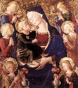 Virgin and Child with Angels f CAPORALI, Bartolomeo