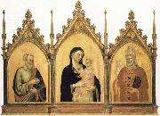 Madonna and Child with SS.Mat-thew and Nicholas of Bari DADDI, Bernardo