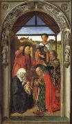The Annunciation,The Visitation,THe Adoration of theAngels,The Adoration of the Magi Dieric Bouts