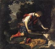 Narcissus at he Spring Francesco Curradi