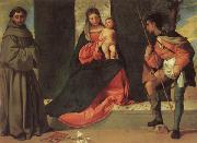 Madonna and Child with SS.ANTHONY AND rOCK Giorgione