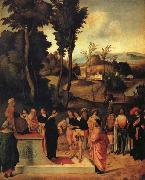 Moses' Trial by Fire Giorgione