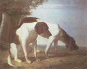 Foxhounds in a Landscape Jacques-Laurent Agasse