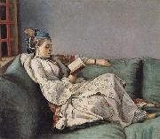 Morie-Adelaide of France Dressed in Turkish Costume Jean-Etienne Liotard