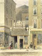 The Regent Street Panorama Thomas Hosmer Shepherd