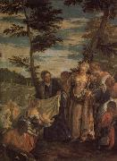 Moses Saved from the Waters of the Nile VERONESE (Paolo Caliari)