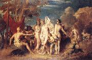 Thwe Judgement of Paris William Etty