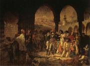 Napoleon Visiting the Plague Vicims at jaffa,March 11.1799 Baron Antoine-Jean Gros