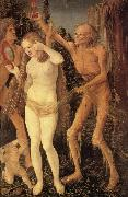 The Three Stages of Life,with Death Hans Baldung Grien