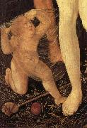 Details of The Three Stages of Life,with Death Hans Baldung Grien