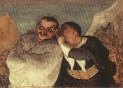 Crispin and Scapin Honore Daumier