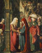 Meeting of Mary and Elisabeth Marx Reichlich
