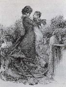 Anna Karenina and Her Son Mikhail Vrubel