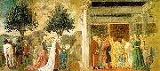 Adoration of the Holy Wood and the Meeting of Solomon and the Queen of Sheba Piero della Francesca