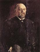 Portrait of savva Mamontov Vasily Perov
