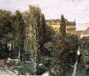 The Palace Garden of Prince Albert Adolph von Menzel