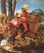 The Knight the Young Girl and Death (mk05) Hans Baldung Grien