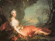 Marie-Adlaide of France as Diana Jean Marc Nattier