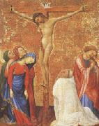 The Crucifixion with a Carthusian Monk Jean de Beaumetz