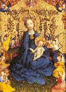 Madonna of the Rose Bush Lochner, Stephan