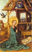 Adoration of the Child Lochner, Stephan
