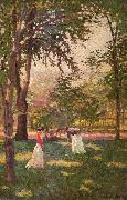 The Croquet Players Paxton, William McGregor