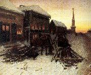 The Last Tavern at the City Gates Perov, Vasily