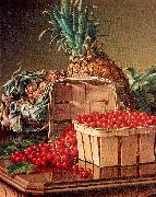 Still Life with Pineapple and Basket of Currants Prentice, Levi Wells