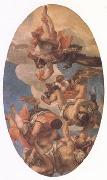Jupiter Smiting the Vices (mk05) VERONESE (Paolo Caliari)
