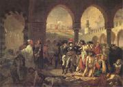 Bonaparte Visiting the Plague-Stricken at Jaffa on 11 March (mk05) Baron Antoine-Jean Gros