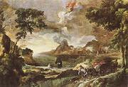 Landscape with St Augustine and the Mystery of the Trinity (mk08) DUGHET, Gaspard