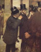 At the Stock Exchange (mk06) Edgar Degas
