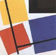 Simultaneous Counter-Composition (mk09) Theo van Doesburg