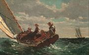 Breezing up (mk09) Winslow Homer