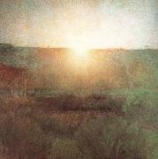 The Rising Sun or The Sun (mk19) Giuseppe Pellizza da Volpedo