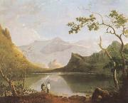 View of Snowdon from Llyn Nantlle (mk08) Richard  Wilson