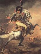 Chasseur of the Imperial Guard,Charging (mk10) Theodore Gericault