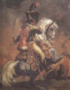 Chasseur of the Imperial Guard,Charging (mk10 Theodore Gericault