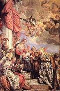 The Marriage of St Catherine awr VERONESE (Paolo Caliari)