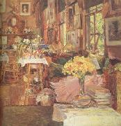 The Room of Flowers (nn03) Childe Hassam
