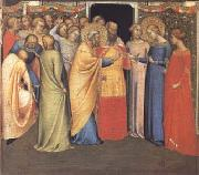 The Marriage of the Virgin (mk25) DADDI, Bernardo