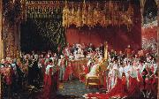 The Coronation of Queen Victoria (mk25) George Hayter