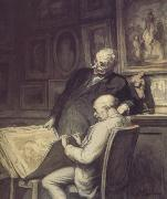 The Print Collectiors (nn03) Honore  Daumier