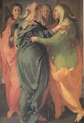 The Visitation (nn03) Jacopo Pontormo
