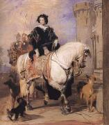 Queen Victoria on Horseback (mk25 Sir Edwin Landseer