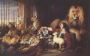 Isaac Van Amburgh and his Animals (mk25) Sir Edwin Landseer