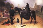 Queen Victoria at Osborne House (mk25) Sir Edwin Landseer